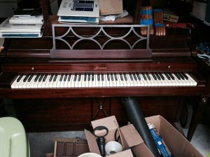 Upright Acrosonic Piano